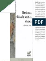 Auat, Alejandro (2011) - Hacia una filosofía política situada (1).pdf