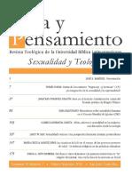Sexualidad y teología-VP30,1