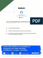 TIPO TEST MARKETING ESTRATÉGICO