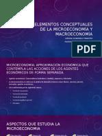 Elementos Conceptuales de La Microeconomía y Macroeconomía