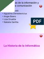 Tecnología de la información y de la comunicación naty, lore, agus, angie y liza