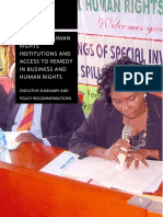 National human rights institutions and access to remedy in business and human rights