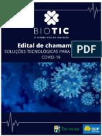 Biotic publica chamada para propostas de combate ao coronavírus