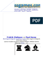 Fridrik Olafsson vs Paul Keres (1959)