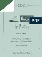 Manual de maquinas herramientas y troquelería