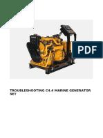 Troubleshooting C4 4 Marine Generator Set