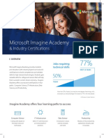 Microsoft Imagine Academy DataSheet 2018-06-13