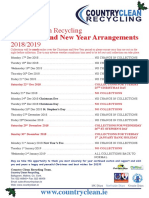 Country Clean A4 Christmas Arrangements Flyer-1
