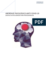 Abordaje Psicológico COVID 19 Autocuidado Profesionales