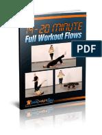 Bodyweight Flow - 14-20-Minute Workout Flows