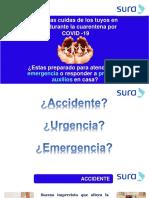 PRIMEROS AUXILIOS EN CASA
