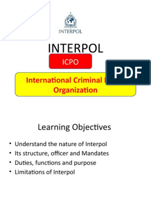 Download Poste Vacant Interpol Images