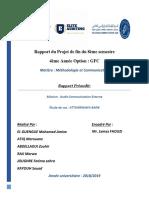 1_Rapport Du Projet de Fin Du 8ème Semestre