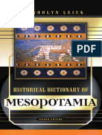 Historical Dictionary of Mesopotamia by Gwendolyn Leick.pdf