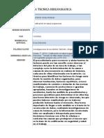 FICHA TECNICA BIBLIOGRAFICA AT Y EL