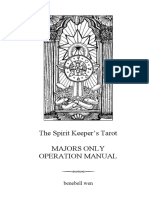 Guidebook for the Major Arcana of the Spirit Keepers Tarot (2018)