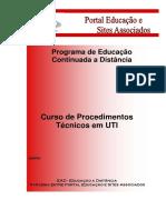 Curso de Procedimentos Técnicos Em UTI
