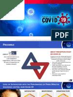 Perception Study on COVID-19
