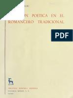 CREACIÓN POETICA EN EL ROMANCERO TRADICIONAL