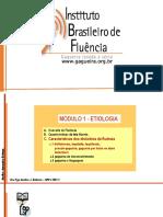 Etiologia - Características gagueira