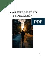 TRANSVERSALIDAD Y EDUCACIÓN