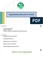 Organizing Structure of ACI