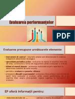 Evaluarea performanțelor stud