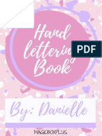 Hand lettering by Danielle vol 1