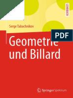 (Springer-Lehrbuch) Serge Tabachnikov (auth.) - Geometrie und Billard-Springer Spektrum (2013).pdf