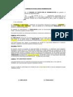 Convenio reducción remuneración Covid 19