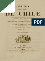 Zoologia de Chile Claudio Gay