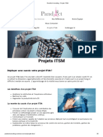 PandAct Consulting - Projets ITSM