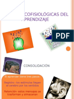 CORRELATOS PSICOFISIOLÓGICOS DEL APRENDIZAJE