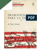 JUAN CERVERA - DRAMATIZACIONES PARA LA ESCUELA