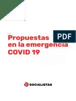 Propuestas en La Emergencia COVID 191