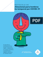 Protocolo de Contención Emocional Para Hombres en Aislamiento Temporal Por COVID-19.