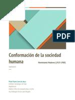 ensayo 1-conformacion de la sociedad humana