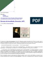 » Discours de la méthode. Descartes. 1637. - PhiloLog.pdf