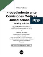 Procedimiento Ante Comisiones Medicas Jurisdiccionales Teoria y Practica
