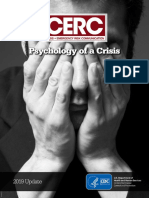 CDC Psychology of a Crisis