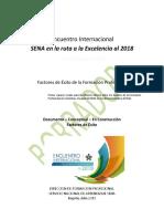 Documento compilado -Factores de Éxito - En la ruta a la excelencia al 2018 - Borrador v5