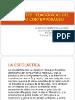 CORRIENTES PEDAGÓGICAS DEL MUNDO CONTEMPORÁNEO