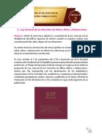 Lectura 6 Tema 2 Ley General de los Derechos de Niñas, Niños y Adolescentes  (1)