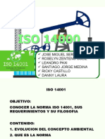 TECNOLOGIA II ISO 14001.pptx
