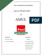 AMUL - Report Final