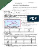 Chapitre II LA RADIOACTIVITE.doc