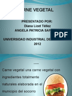 carne vegetal