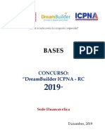 Bases Dreambuilder Huancavelica2020