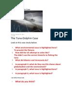 The Tuna and dolphin.docx