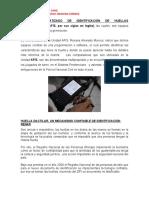 SISTEMA AUTOMATIZADO DE IDENTIFICACIÓN DE HUELLAS DACTILARES